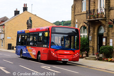 Stagecoach 36456 (YN61FXU), Manchester Road, Stocksbridge, 5th August 2016