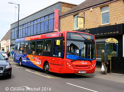 Stagecoach 36458 (YN61FXW), Manchester Road, Stocksbridge, 5th August 2016