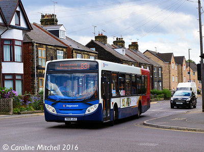 Stagecoach 22616 (YN08JGZ), Ecclesfield Common, Sheffield, 3rd August 2016