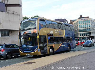 Stagecoach 15193 (YN64AOD), Arundel Gate, Sheffield, 5th August 2016