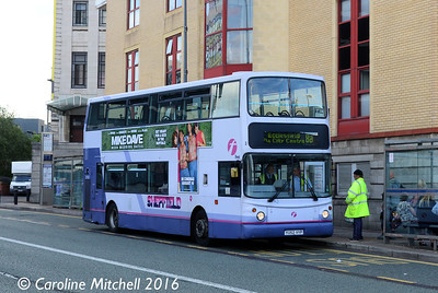 First 31139 (YU52VYP), Arundel Gate, Sheffield, 5th August 2016
