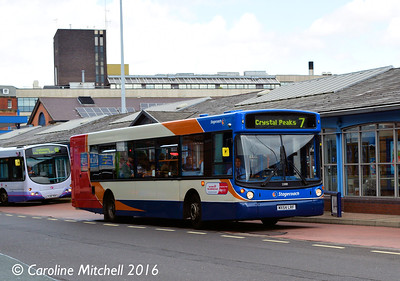 Stagecoach 22083 (MX54LRF), Pond Street, Sheffield, 3rd August 2016