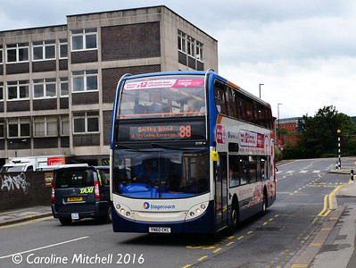 Stagecoach 15709 (YN60CKC), South Lane, Sheffield, 3rd August 2016