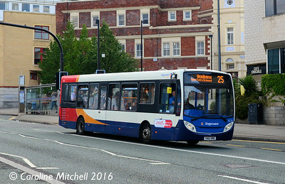 Stagecoach 36726 (YN62BNE), Arundel Gate, Sheffield, 5th August 2016