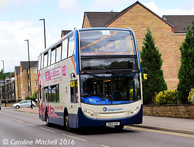 Stagecoach 15712 (YN60CKF), Ecclesfield Common, Sheffield, 3rd August 2016