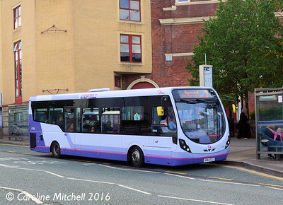 First 47490 (SN64COJ), Arundel Gate, Sheffield, 5th August 2016