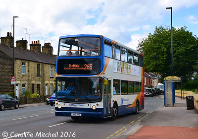 Stagecoach 17569 (RHE353), Ecclesfield Common, Sheffield, 3rd August 2016