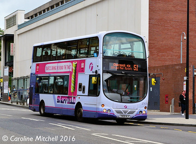 First 37479 (YN08NLV), Cumberland Street, Sheffield, 3rd August 2016
