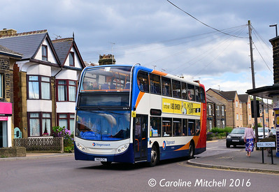 Stagecoach 15716 (YN60CKL), Ecclesfield Common, Sheffield, 3rd August 2016