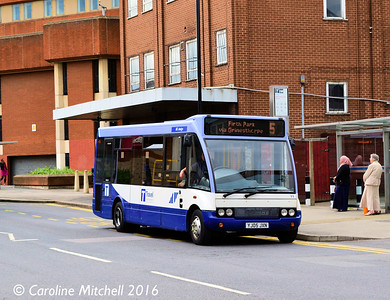 Sheffield Community Transport 11 (YJ05JXN), South Lane, Sheffield, 3rd August 2016