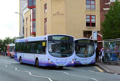 First 60893 (YJ51RGY) and 60892 (YJ51RHF), Arundel Gate, Sheffield, 5th August 2016