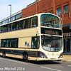 First 37528 (YN58ETX), Pinstone Street, Sheffield, 5th August 2016
