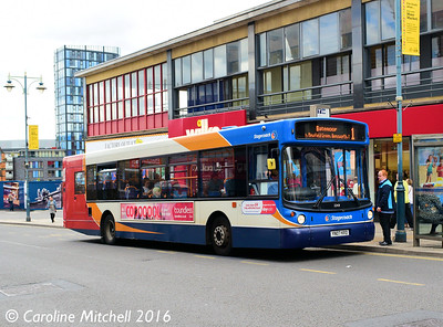 Stagecoach 22431 (YN07KRD), Haymarket, Sheffield, 3rd August 2016