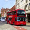 TM Travel 1177 (YN56FDY), Pinstone Street, Sheffield, 5th August 2016
