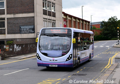 First 47489 (SN64COH), South Lane, Sheffield, 3rd August 2016