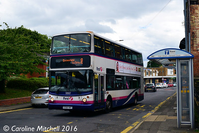 First 30937 (X358VWT), High Street, Ecclesfield, Sheffield, 3rd August 2016