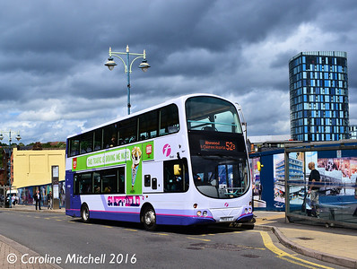 First 37520 (YN58ETJ), Waingate, Sheffield, 3rd August 2016