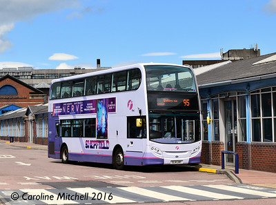 First 33870 (SL14LMY), Sheffield Interchange, 3rd August 2016