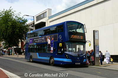 First 35121 (SM65EFH), Cumberland Street, Sheffield, 5th August 2017