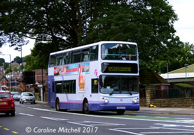 First 31129 (YU52VYE), Ecclesall Road, Sheffield, 5th August 2017