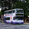First 31129 (YU52VYE), Ecclesall Road, Sheffield, 5th August 2017