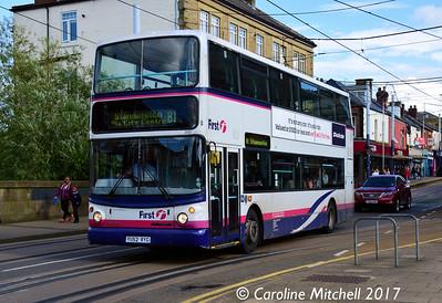 First 31131 (YU52VYG), Langsett Road, Hillsborough, Sheffield, 8th September 2017