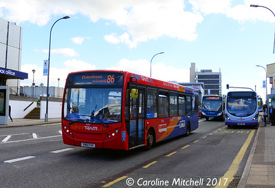 Stagecoach 36457 (YN61FXV), Arundel Gate, Sheffield, 4th August 2017