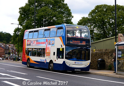 Stagecoach 19042 (SN56AWP),  Ecclesall Road, Sheffield, 5th August 2017