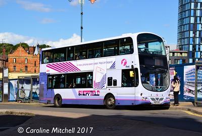 First 37109 (YK07AYG), Waingate, Sheffield, 8th September 2017