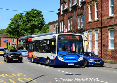 Stagecoach 36722 (YN62BLX), Chesterfield Road, Woodseats, Sheffield, 4th August 2017