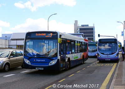 Stagecoach 28675 (YN62FXR), Arundel Gate, Sheffield, 4th August 2017