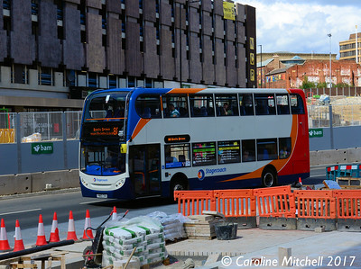 Stagecoach 15715 (YN60CKK), Charter Row, Sheffield, 5th August 2017
