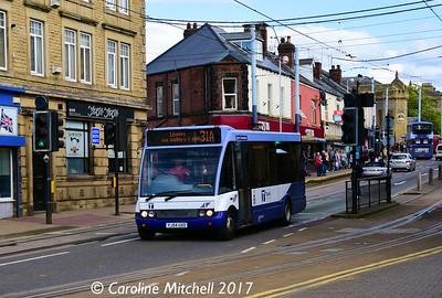Sheffield Community Transport 13 (YJ54UXO), Langsett Road, Hillsborough, Sheffield, 8th September 2017