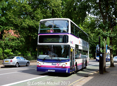 First 31134 (YU52VYK), Ecclesall Road, Sheffield, 5th August 2017