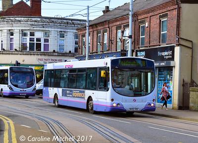First 60740 (MV02VDO), Langsett Road, Hillsborough, Sheffield, 8th September 2017