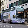 First 33864 (SL14LMJ), Leopold Street, Sheffield, 24th December 2017