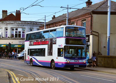 First 31130 (YU52VYF), Langsett Road, Hillsborough, Sheffield, 8th September 2017