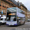 First 33858 (SL14DFD), Pinstone Street, Sheffield, 24th December 2017