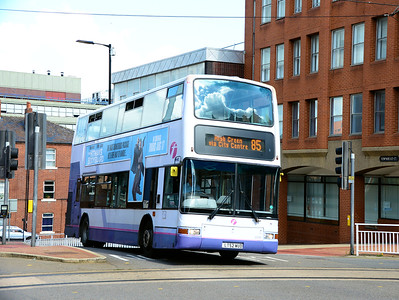 First 32220 (LT52WUD), Townhead Street, Sheffield, 5th August 2017