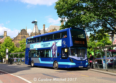 First 35123 (SM65EFK), Pinstone Street, Sheffield, 4th August 2017