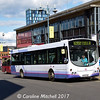 First 60715 (MV02VBG), Haymarket, Sheffield, 8th September 2017