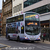 First 37113 (YK07AYM), Leopold Street, Sheffield, 24th December 2017