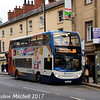 Stagecoach 15708 (YN60CKA), Leopold Street,, Sheffield, 24th December 2017