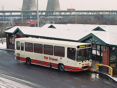 28th December saw me at Meadowhall Station in order to film Royal Scots Grey storming through. Afterwards it was back to bus spotting! TM Travel N211YJE is an Alexander bodied Dennis Dart