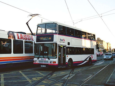 First Volvo Olympian/NCME 34055 (P255UCW) again, this time in Hillsborough.