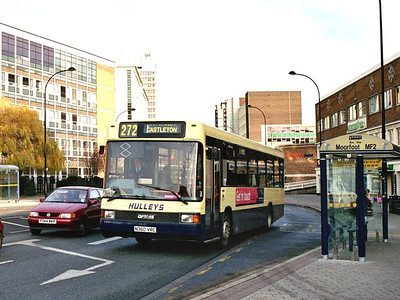 Hulleys ex Trent Optare Sigma N360VRC in Charter Row en route for Castleton on 24th December 2005..