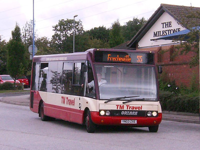 TM Travel Optare Solo M920 1165 (YN03ZXE) in Crystal Peaks Bus Station, 17th August