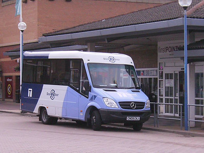 Sheffield Community Transport Mercedes Benz Sprinter CN09CKJ at Crystal Peaks on 17th August