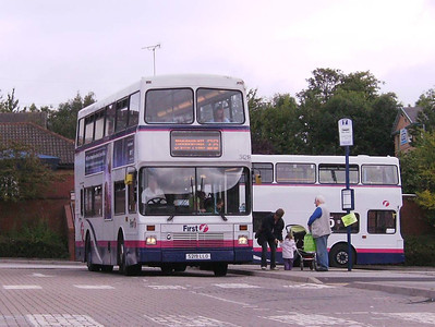 First Northern Counties bodied Volvo Olympian 32419 (S219LLO) in Crystal Peaks Bus Station on 17th August
