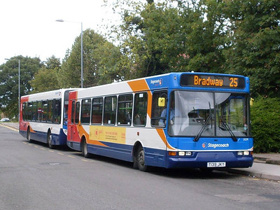 Also on Chapel Street on 17th August was Stagecoach 32239 (T139JKY), an East Lancs bodied Dennis Dart SLF